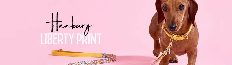 Luxusní obojky vodítka pro psy Hanbury Liberty Print
