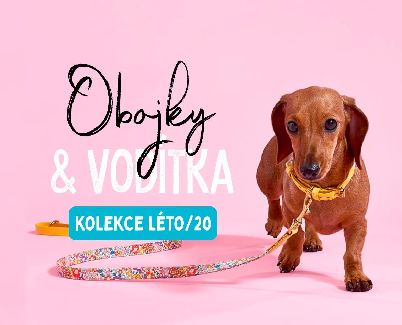 Luxusní obojky vodítka pro psy kolekce 2020