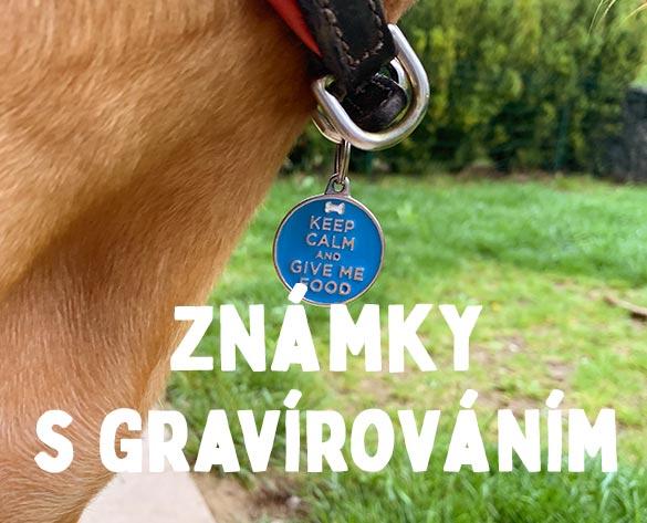 Známky pro psy s gravírováním