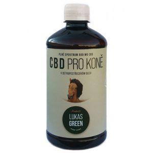 CBD z konopí v ostropestřecovém oleji pro koně Na bolest, úzkost, artritídu