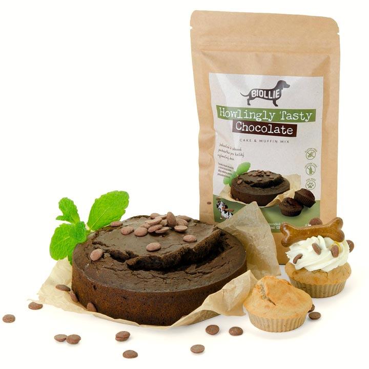 Howlingly Tasty Chocolate Dort pro psy