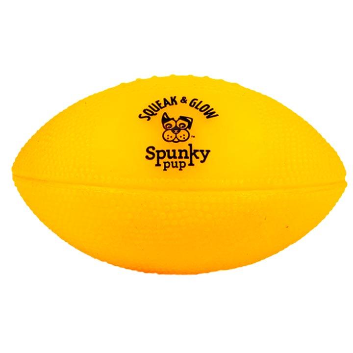 Svítící fotbalový míč pro psy hračka Spunky Pup