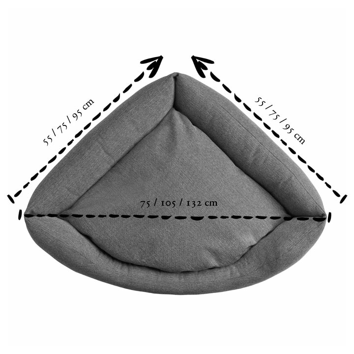 Hunter Rohový pelíšek Livingston Grey