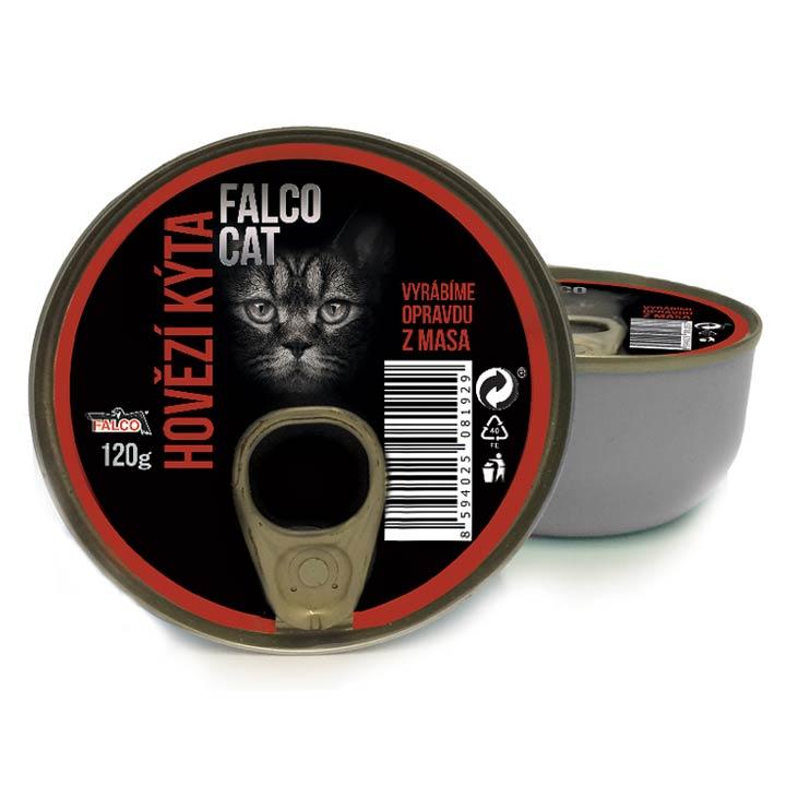 Falco Cat 100% Hovězí kýta 120 g