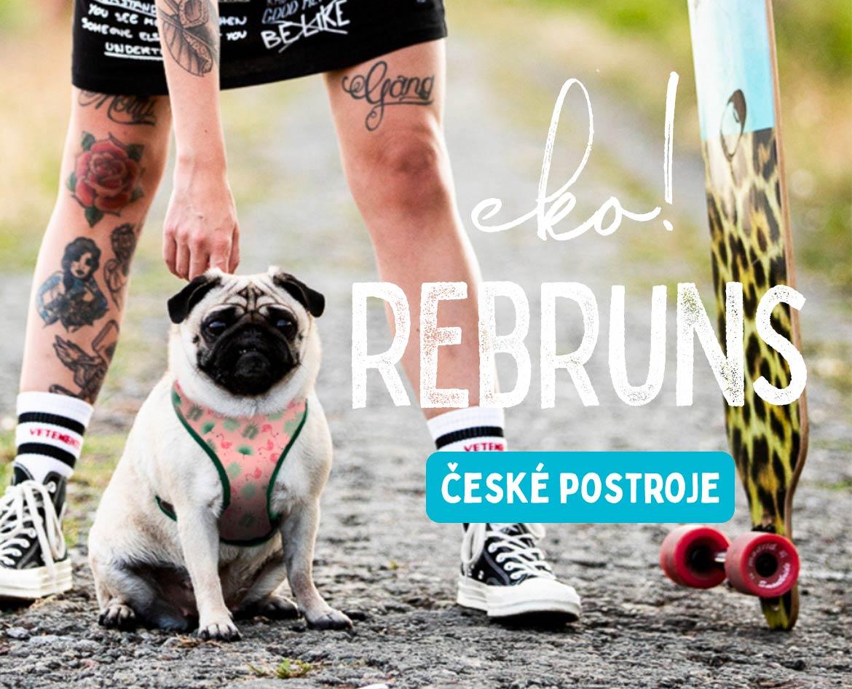 české postroje Rebruns pro psy ekologické