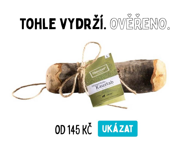Dřevo olivové kávové pro psy