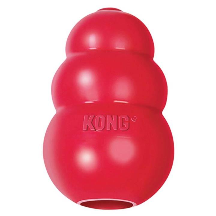 Nezničitelný Kong Classic hračka odolná pro psy