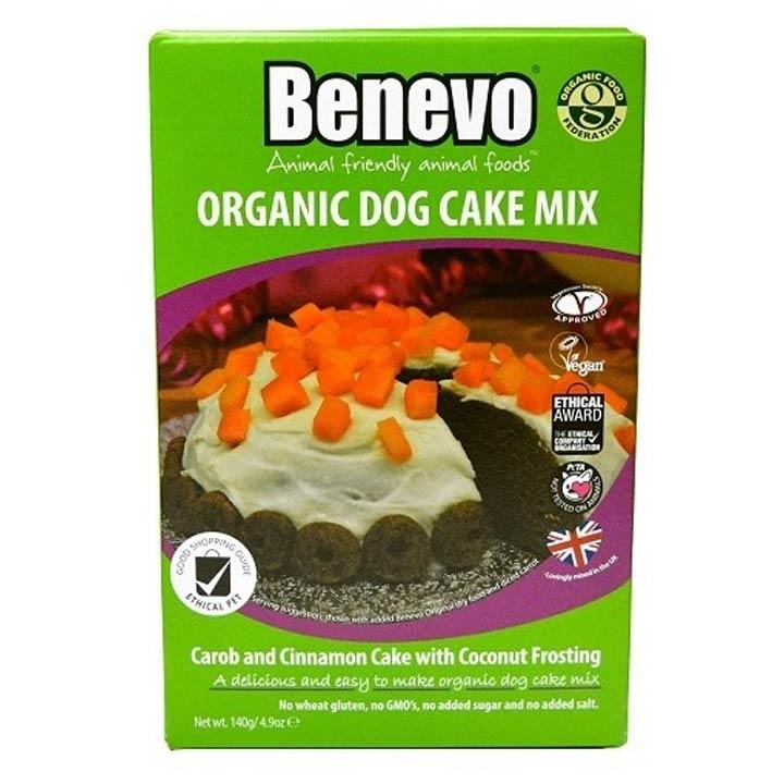 Benevo Bio Směs na přípravu dortu pro psy