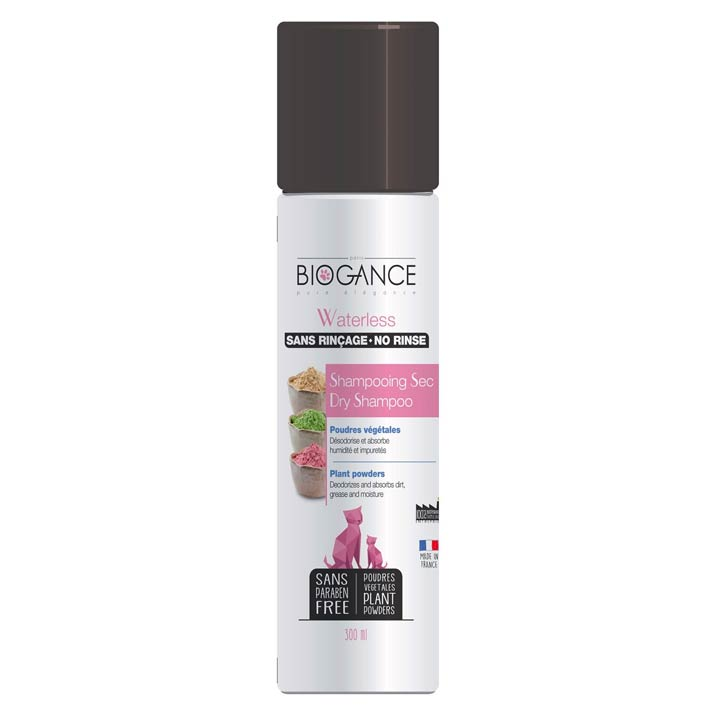 Biogance Waterless Suchý šampon pro kočky