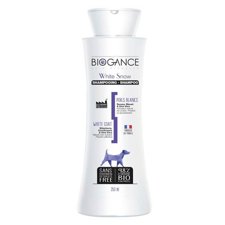 Biogance White Snow Šampon na bílou srst
