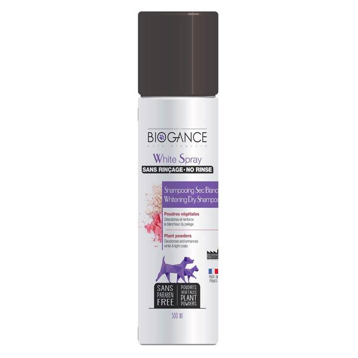 Biogance White Suchý šampon na bílou srst pro psy a kočky
