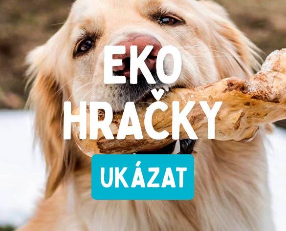 eko hračky pro psy přírodní