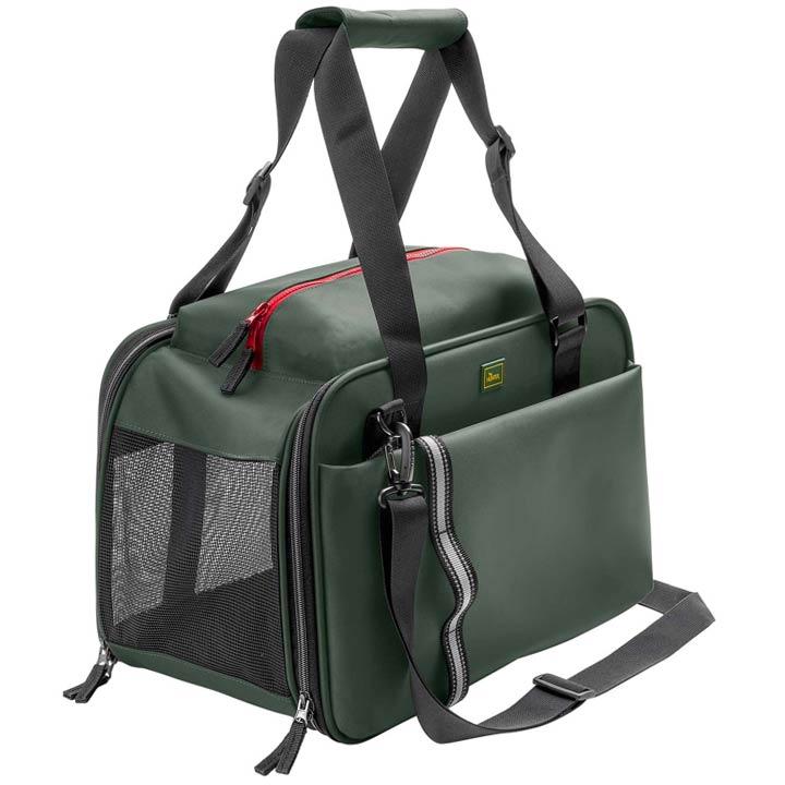 Hunter Cestovní taška pro psy kočky Orlando Khaki