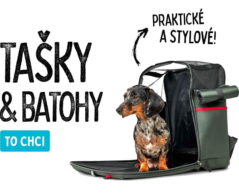 Cestovní tašky batohy pro psy kočky