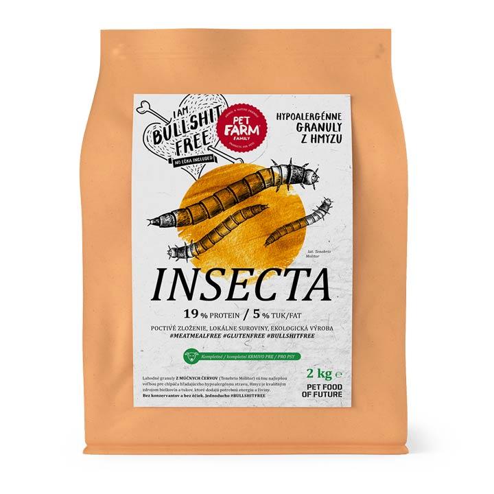 Pet Farm Family Hmyzí granule pro psy Insecta 150 g