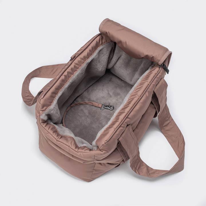 Cloud7 Cestovní taška Montreal Dusty Rosé luxusní pro psy