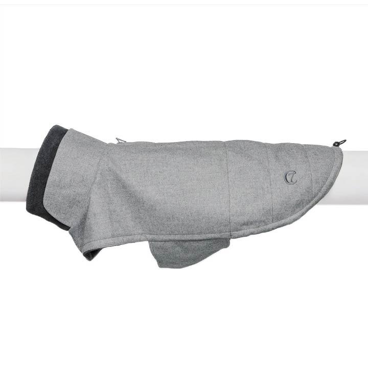 Cloud7 Kabát Brooklyn Flannel Grey luxusní obleček pro psy