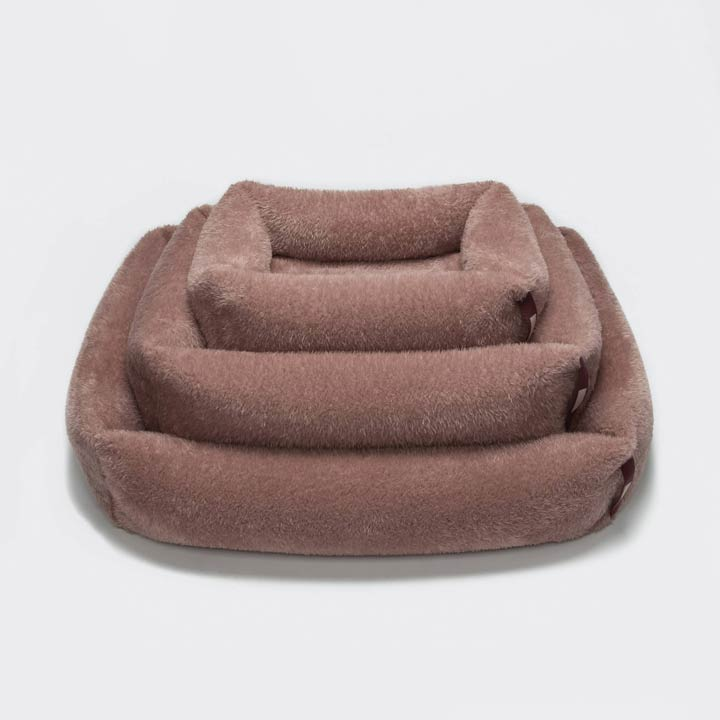 Cloud7 Pelíšek Sleepy Plush Rosé luxusní pro psy