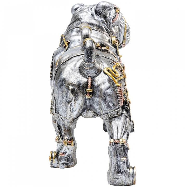 Steampunk Dog socha psa buldok