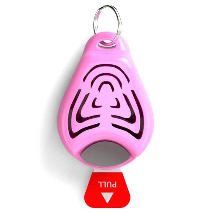 Tickless Přívěsek proti klíšťatům Pink pro psy