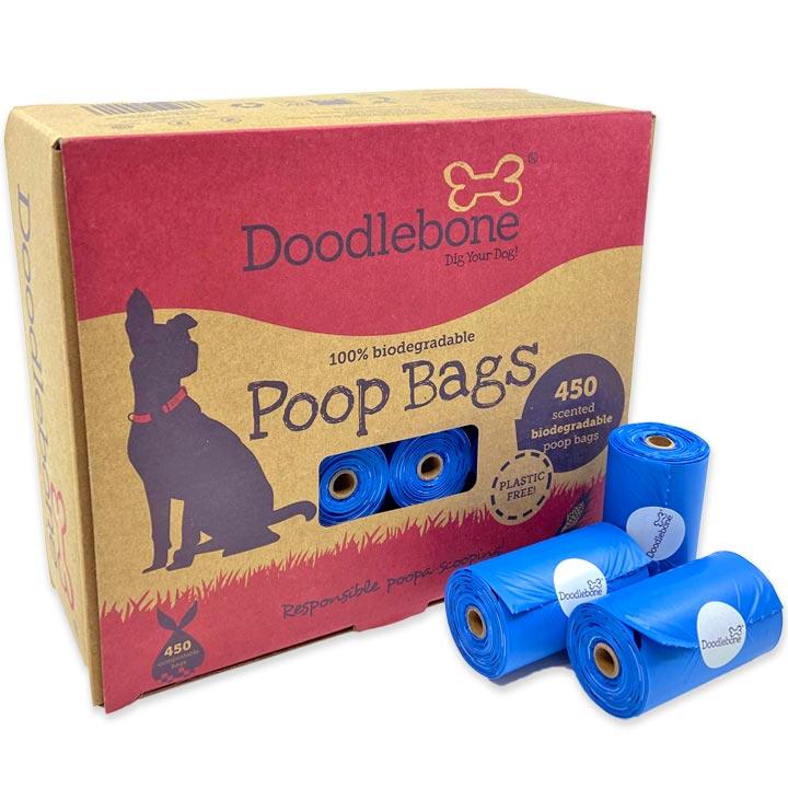 Doodlebone Kompostovatelné sáčky na psí hovínka 450 ks MEGAPACK