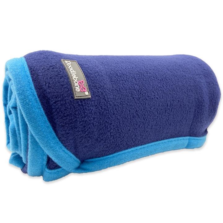 Doodlebone Měkká deka pro psy Fleece Blue