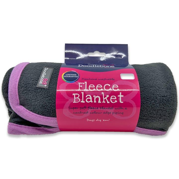 Doodlebone Měkká deka pro psy Fleece Pink